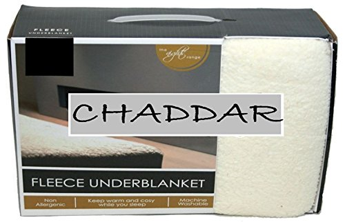 LUXURIOUS MATTRESS PROTECTOR FLEECE UNDERBLANKET EXTRA DEEP FITTED BED COVER (Small Double (4FT))