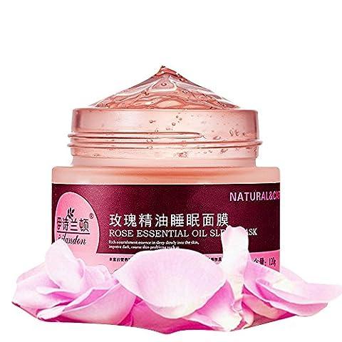 Oshide Rosenöl Und Ätherisches Öl Extrakt-Maske Nacht-Maske Feuchtigkeitsspendende Gesichtsmaske