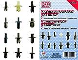 BGS 9045 Sortiment KFZ Befestigungsclip Clips Innenverkleidung 350 teilig