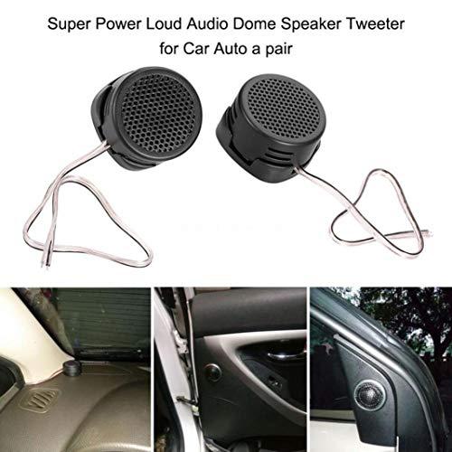 YSHtanj Auto-Lautsprecher, Auto-Video-Player & Zubehör, 1 Paar, universal, 500 W Auto Fahrzeug Hochleistungslautsprecher Hochtöner