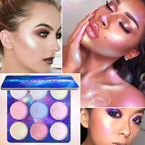 Woya 9 couleurs de maquillage Palette correctrice Crème Contour Kit Blemish Visage Contour surligneur palette