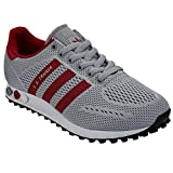 adidas Herren L.A. Trainer EM Turnschuhe, Multicolor UK3.5