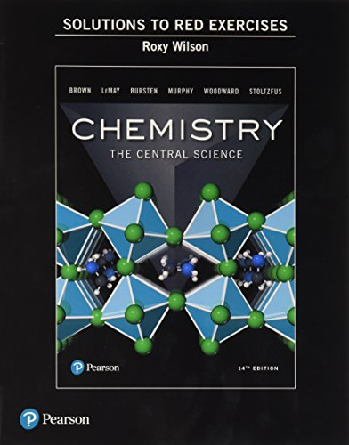 Student Solutions Manual to Red Exercises for Chemistry: The Central Science