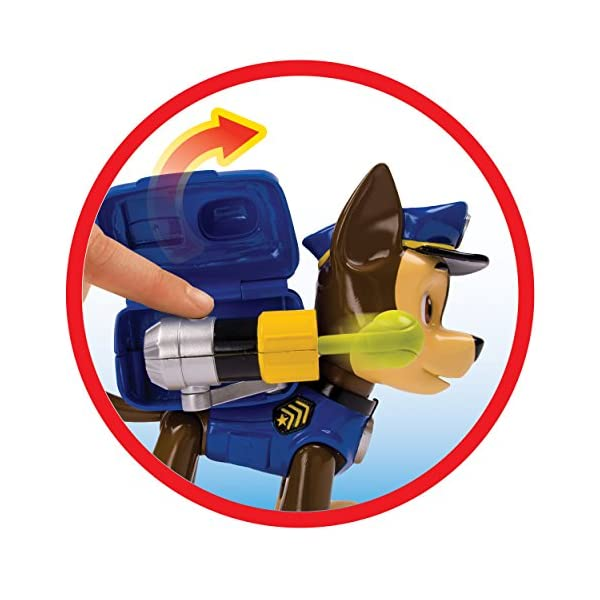 Paw Patrol Pup Acción Jumbo - Chase 3
