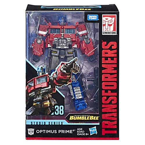 Transformers Toys Studio Series 38 Voyager Class Bumblebee Movie Optimus Prime Action Figure-Ages 8 and Up, 6.5-inch