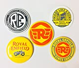 #3: Pin Badges For Royal Enfield Riders - Set of 5 Badges