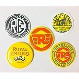 Pin Badges For Royal Enfield Riders - Set of 5 Badges