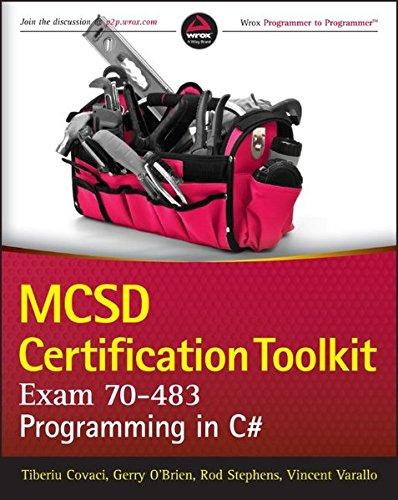MCSD Certification Toolkit (Exam 70-483): Programming in C#-