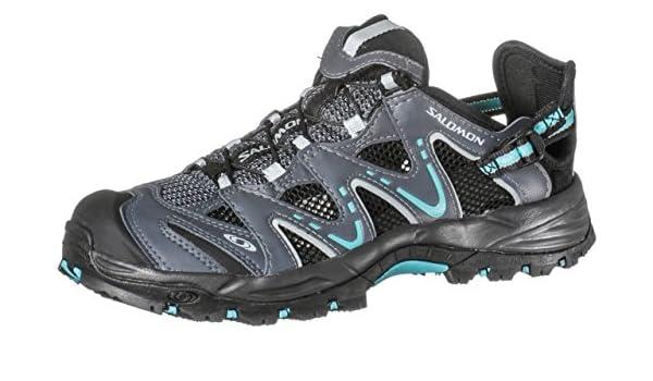 Damen Schuhe Salomon Riverside Wasserschuhe Damen grünblau