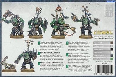 Games Workshop Jeux Atelier 251765061668,3cm Warhammer 40K Space Ork Nobz 2009Action Figure