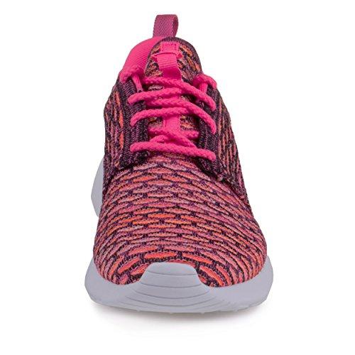 Nike - Roshe Flyknit, Scarpe da corsa Donna Rosa