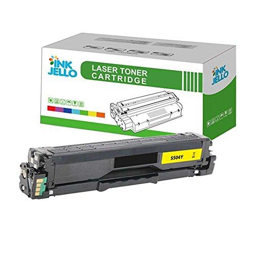 InkJello kompatibel Toner Patrone Ersatz für Samsung CLP-415N CLP-415NW CLX-4195FN CLX-4195FW Xpress SL-C1810W Xpress SL-C1860FW CLT-Y504S (Gelb) (Gelbe Box Jello)