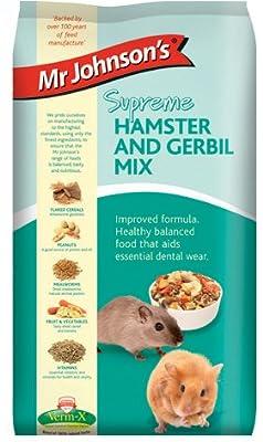 Mr Johnson's Supreme Hamster & Gerbil Mix 900g (Pack of 6) by Mr Johnsons