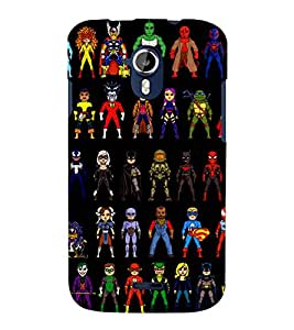 printtech Superhero Collection Back Case Cover for Micromax Canvas Magnus A117