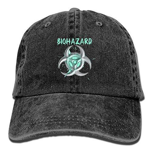 Mei-ltd Classic Unisex Baseball Cap Ball Hat Organic Biohazard - Biohazard-snap