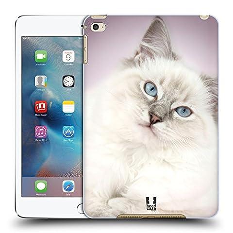 Head Case Designs Weiss Ragdoll Katze Beliebteste Katzenrasse Ruckseite Hülle für Apple iPad mini 4