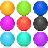 """Running Belts Red: Lio """"Lacrosse Ball (6cm Diameter) many Colors For Massage Trigger Points. Ideal Massage Ball Massage Roller for Specific Treatment of Tension and Hardness as much as the 805044(Roll): Fascia"""