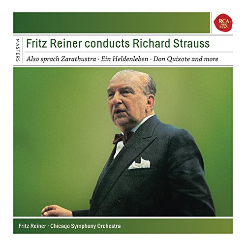 Preisvergleich Produktbild Fritz Reiner conducts Richard Strauss - Also sprach Zarathustra,  Ein Heldenleben,  Don Quixote and more