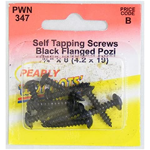 Pearl PWN347 flangiato auto maschiatrici - Nero