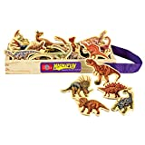 T.S. Shure Dinosaurier Holz-Magneten 20 Stück MagnaFun-Set