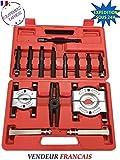 Coffret arrache moyeux rotules extracteur roulement / vilebrequin 14pcs (Ref.TM/40400092)