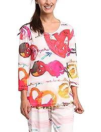 Da Desigual Abbigliamento Camicie Donna Pigiami Notte E Amazon it a65fWcURaz
