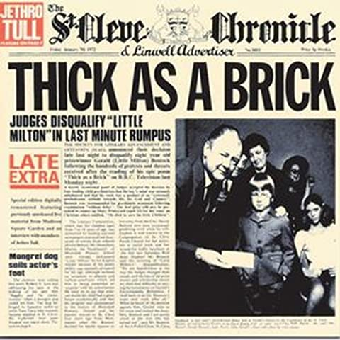 Jethro Tull Thick As A Brick - Thick As a Brick [Import