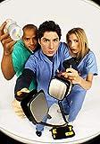 Scrubs – die Anfänger TV Show Foto Poster Serie Guss Zach Braff Donald Faison J. D.003 (A5-a4-a3) - A4