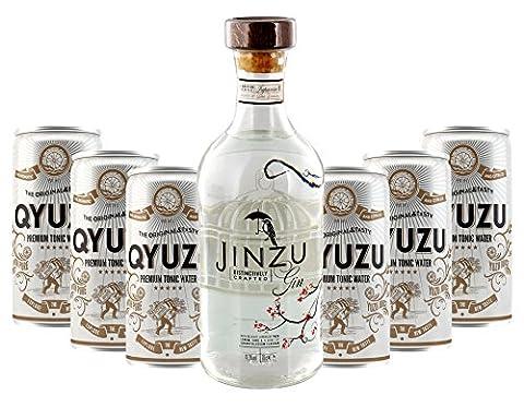 Lieferello - Jinzu Gin und Qyuzu Tonic Water Set 41,3% Vol. - 7-teilig/1St inkl. Pfand