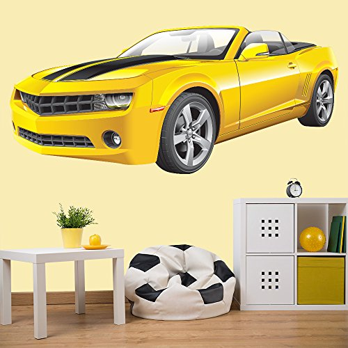 chevrolet-camaro-sports-car-couleur-wall-sticker-transport-art-stickers-decor-disponible-en-8-taille