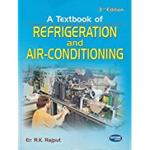 A Textbook of Refrigeration and Air-Conditioning