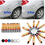 Yukio Baumarkt – 6 Farbe Auto Lack-Reparaturstift Scratch Repair Pen Dedicated Multi Color Auto Lackstift (Silber)