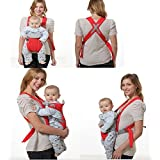 Inglis Lady Flavorsmart Kids Adjustable Hands-Free 4-in-1 (with Comfortable Head Support & Buckle Straps) Baby Carrier (Multi)