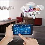 GEEDIAR® Cheerson CX-10ds WIFI RC 2.4G 4CH 6 Achse Handy-Steuerung für iOS