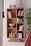 Bücherregal 75cm 'San Diego' Wildeiche geölt massiv
