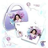 Disney Violetta set Diario Segreto in valigetta Music Love