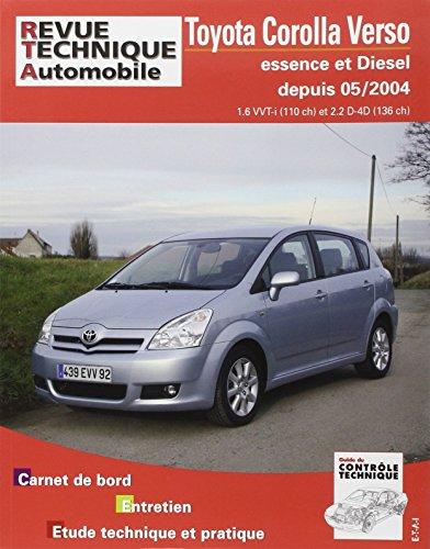revue technique B705.6 Toyota Corolla Verso Vvt-I + 136 D4-d