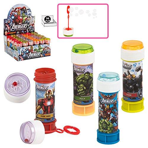 51UA6hD17LL - ColorBaby - Caja pomperos Avengers con 36 Unidades de 60 ml (24608)