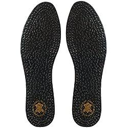 Plantillas Kaps Pecari carbono negro–Zapato Plantillas para zapatos de Smart con carbón activado y oveja, todos los tamaños, color negro, talla 35 1/3 EU