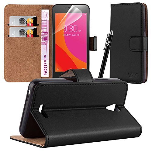vakr-lenovo-b-flip-wallet-leather-book-card-slot-case-cover-pouch-for-lenovo-b-with-free-screen-prot