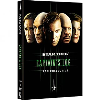 Star Trek - Fan Collective Captain's Log (DVD,5-Disc Set)
