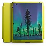 DeinDesign Apple iPad 3 Smart Case Limette Hülle mit Ständer Schutzhülle Baeume Himmel Mystisch