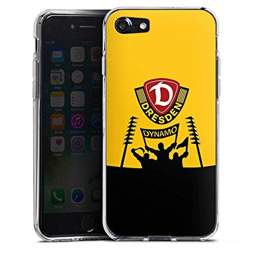 Apple iPhone 6 Plus Hülle Case Handyhülle Dynamo Dresden Fanartikel Bundesliga Fußball Silikon Case transparent
