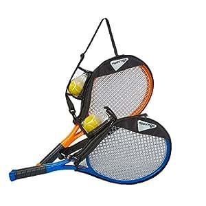 Hamleys Moovngo Tennis/Badminton Set, Orange/Blue (Color May Vary)