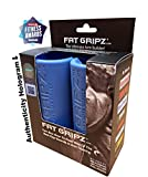 Fat Gripz Ultimate Hantelgriffe, Ø 5,7cm, Blau