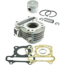 RMS Kit Cilindro Kymco 50cc 39mm (Kit Cilindros completos)/Cylinder Kit Kymco 50cc 39mm (Cylinder Engine Kit)