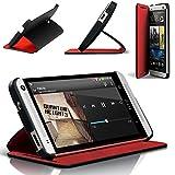 HTC One Double Dip Flip Hülle schwarz