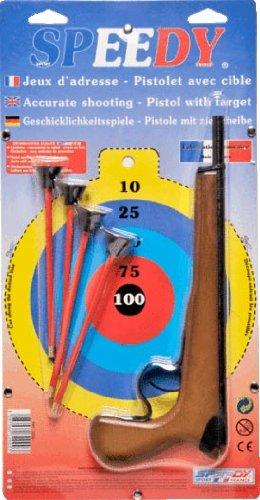 D.f.i - 3200 - Jeu De Tir - Pistolet Crosse Bois - 1 Coup