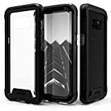 Samsung Galaxy Note 8 Case, Zizo [ION Series] with FREE [Curved Full Glass Screen Protector] Transparent Clear [Military Grade Drop Tested] Note 8