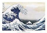 Empire 206206 - Póster de ilustración de Katsushika Hokusai (91,5 x 61 cm)